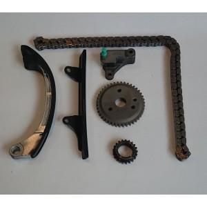 Zestaw łańcucha rozrządu Toyota Yaris 1.0 99-05 1SZFE OSK